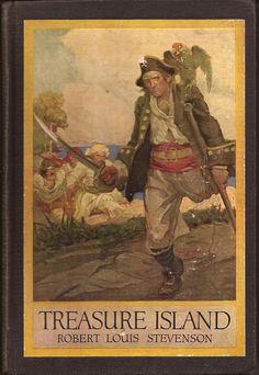 Treasure Island 1915 Vintage Classic Book