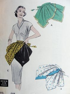 CROSSED TRIANGLES 3 VERSIONS QUICK n EASY BUTTERICK 7142