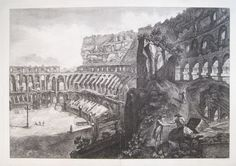 """Veduta Interna del Colosseo."" Piranesi"