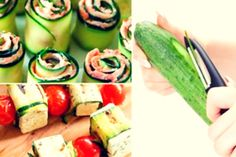 Sandvișuri calde delicioase, gata într-un timp record! Zucchini, Sushi, Bacon, Appetizers, Food And Drink, Vegetables, Ethnic Recipes, Salads, Appetizer