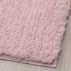 The dense, thick pile dampens sound and provides a soft surface to walk on. The backing keeps the rug firmly in place and reduces the risk of slipping. Ikea, Shared Rooms, Pet Bottle, Wet Rooms, Pink Art, Small Rugs, Gliders, Shag Rug, Dressing Room