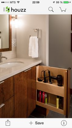 best small bathroom storage ideas for . We've already done the work for you when it comes to finding and curating small bathroom storage ideas. Bad Inspiration, Bathroom Inspiration, Bathroom Ideas, Bathroom Styling, Built In Bathroom Storage, Bathroom Drawers, Toilet Storage, Bath Storage, Bathroom Designs