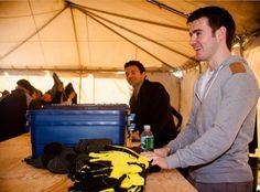 Emmet and Ryan helping Hurricane Sandy victims at Rockaway Beach - emmet-cahill Photo