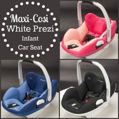 If its a girl the pink, boy the black.  Safety for baby.  Maxi Cosi White Prezi.