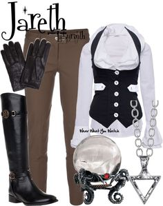 Inspired by character Jareth; The Goblin King, played by David Bowie in 1986's Labyrinth.