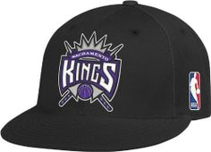 2ed409fca56b7 Amazon.com   NBA Sacramento Kings Flat Brim Flex Fit Hat