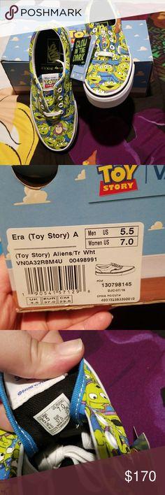 Toy  Story Aliens Vans Toy  Story Aliens Vans Size 7 Vans Shoes Athletic Shoes