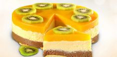 Baking Cake Without Baking - Prepare Quickly, Is Economical And Incredibly Tasty! Easy Desserts, Dessert Recipes, Cheesecake, Best Cake Recipes, Recipe From Scratch, Cake Decorating Supplies, Yummy Cakes, No Bake Cake, Kiwi