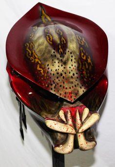 predator, Custom Helmets, Motorcycle Helmets
