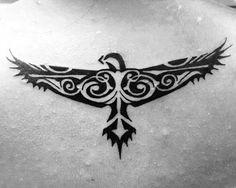 40 Tribal Eagle Tattoo Designs For Men - Bird Ink Ideas Hand Tattoos, Tribal Eagle Tattoo, Tribal Back Tattoos, Wrist Tattoos For Guys, Eagle Tattoos, Spine Tattoos, Arrow Tattoos, Feather Tattoos, Tribal Arm