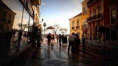 Entardecer na Rua D. Francisco Gomes em Faro   Algarve | Portugal