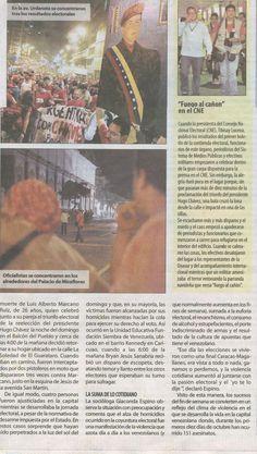 Sucesos elección presidencial Venezuela 2012 (2 de 2)