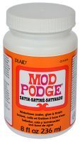 Modge Podge Satin Glue & Sealer 8oz 236 ml CS11272 1Bottle MP