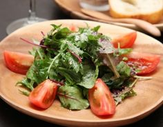 ビネガーを効かせて。 - 5件のもぐもぐ - グリーンサラダ by mayugarita