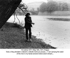 Jiří Kovanda Prague, Public, River, Art, Rivers