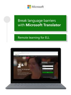 For ELL students, tools like Microsoft Translator are key to communicating with teachers in and outside of the classroom. Learn how to create an inclusive hybrid space by captioning lectures and live discussions. Technology Tools, Educational Technology, Ell Students, Learning Environments, The Help, Microsoft, Language, Classroom, Teacher