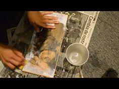 Transferencia de imágenes con aerosol - YouTube