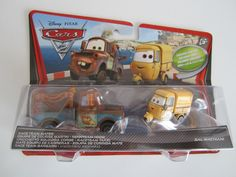 Disney Pixar Cars 2 Doppelpack V 2832 Autos Mattel 1:55
