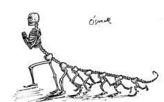 """An Octabod."", Stanislaw Lem's drawing"