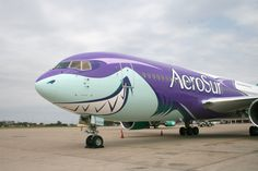 "Aerosur Boeing 767-200/ER in ""Sharko"" livery"