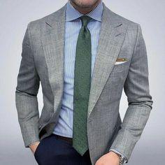 Blazer Outfits Men, Stylish Mens Outfits, Der Gentleman, Gentleman Style, Mens Fashion Suits, Mens Suits, Business Casual Men, Men Casual, Mode Man
