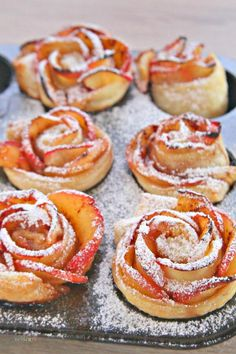 This apple roses pastry is the perfect blend of deliciousness, and the appearance of these delightful puff pastry roses is a true luxury for any party with friends or co-workers. The rose even makes them a very romantic dessert for a date night! One of my favorite things about this apple roses pastry is it is SO easy to make with just a few ingredients you most likely already have. The best part is, it will look like it came straight out of a café or right out of a swanky restaurant. Get…