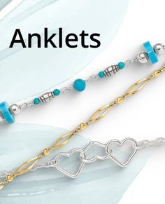 Add a little heat to your summer with this collection of sizzling anklet styles. Perfect for highlighting those golden tans. #QualityGold #jewelry #SummerFashion #Fashion #BestSelling #SummerFun #anklets Golden Tan, Tans, Anklets, Jewelry Trends, Body Jewelry, Summer Fun, Turquoise Necklace, Jewels, Collection