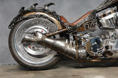 Steampunk Tendencies | Siren of TI Chopper by Scott Cawood
