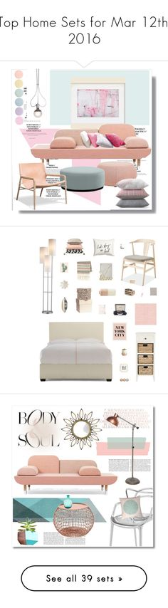 """""""Top Home Sets for Mar 12th, 2016"""" by polyvore ❤ liked on Polyvore featuring interior, interiors, interior design, home, home decor, interior decorating, Deborah Lippmann, Arper, Williams-Sonoma and Ingo Maurer"""