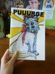LIMITED EDITION Puuurge Art Zine vol. 1 by witchhboy on Etsy