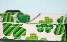 Large Shamrock Dog Collar with matching donation by WithBugLove, $13.00