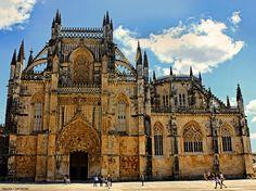 The Monastery of Batalha, Batalha, portugal by Tigles1Artistry