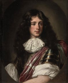 Philippe, 4th Duc de Vendome, by Jacob Ferdinand Voet. (1655–1727) The Grand Prior for France in the Order of Malta, Vendôme held senior military positions throughout his life, in various command roles. Born to Louis de Bourbon, duc de Vendôme, and Laura Mancini. Died w/o issue; find no record of a marriage.