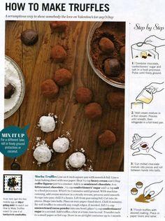 How to make Truffles