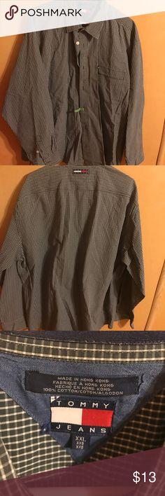 Tommy jeans xxl men's shirt Tommy jeans xxl men shirt like new condition tommy jeans Shirts