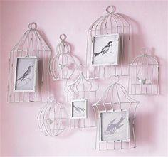 Summer Walls - Birdhouse Multi Frame, Wall Art, 73x61cm