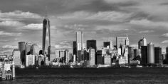 Title   New York City Skyline Black And White    Artist   Dan Sproul