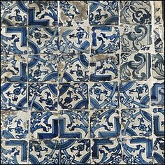 old tiles....letting time enhance their beauty.