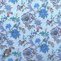 Liberty Tana Lawn Vintage fabric TARAMEA  (ma jupe de communiante !)