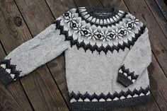 Ravelry: Design 3 Pullover pattern by Reynolds Yarns Kids Knitting Patterns, Baby Sweater Patterns, Baby Cardigan Knitting Pattern, Knitting For Kids, Knitting Designs, Icelandic Sweaters, Nordic Sweater, Knit Crochet, Couture