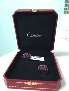 Cartier Cufflinks Sterling 925