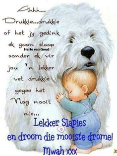 Lekker slaap Good Night Blessings, Good Night Wishes, Good Night Messages, Good Night Quotes, Good Morning Vietnam, Evening Greetings, Afrikaanse Quotes, Goeie Nag, Christian Messages