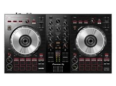 Pioneer DJ has announced its newest DJ controller, the meant to work with free software Serato DJ Lite (though it will also work with Serato DJ Pro). Dj Pro, Pioneer Dj Controller, Arduino, Learn To Dj, Usb, Turntable Setup, Spin, Mixer Dj, Music Mixer