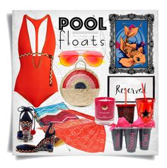 """Soak Up the Sun: Pool Party"" by imbeauty ❤ liked on Polyvore featuring Aquazzura, Eres, Yves Saint Laurent, Kate Spade, Missoni Home, Vanessa Seward, Chesca, Hot Topic, Hightide Devon and poolparty"