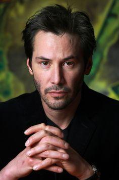♂ Man portrait Keanu Reeves