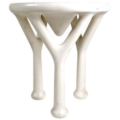 John Dickinson 'Y' Table | From a unique collection of antique and modern side tables at http://www.1stdibs.com/furniture/tables/side-tables/