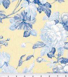 45'' Home Essentials Print Fabric-Maritoile Sunblue, , hi-res