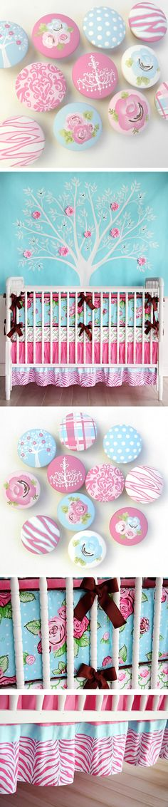 This would be so pretty with Baby Raikes's white canopy princess crib :)