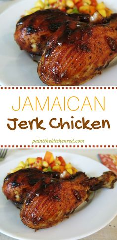 Bring some island flavor to your kitchen with this delicious Jamaican Jerk Chicken recipe. The chicken looks beautiful and the flavor is wonderful!