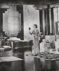 Lovely homes and interior on pinterest 1930s art deco for 1920s hotel decor